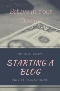 The Real Cost of Starting a Blog
