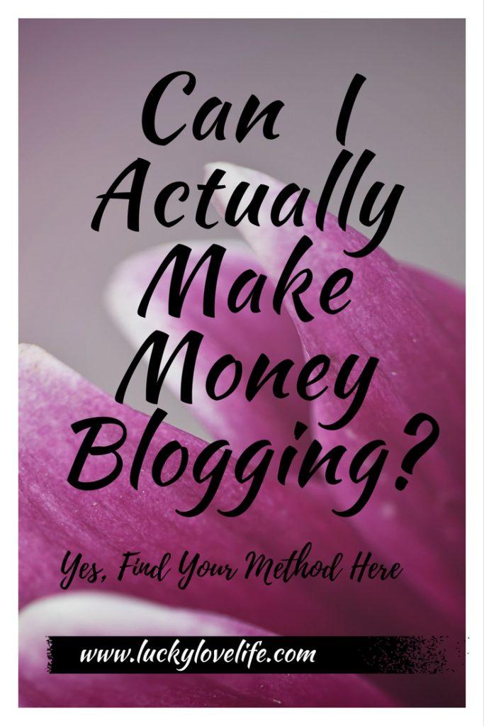 Can I Make Money Blogging